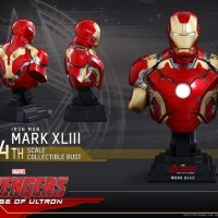 Hot Toys Bust 1/4 Ironman Mark 43 AOU