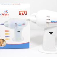 Jual Waxvac Ear Vacuum Cleaner Alat Penyedot Pembersih Kotoran Telinga Murah