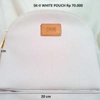 SK-II Pouch White Original - Dompet Makeup Kosmetik Make Up