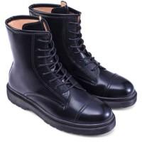 Sepatu Laced Up High Cut Boots (Zalora, Hitam, size 37)
