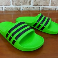 Grosir / Eceran, Sandal Pria, Jepit, Slop, Sandal Adidas Duramo Hijau
