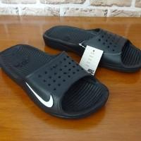 Grosir / Eceran, Sandal Pria, Jepit, Slop, Sandal Nike Cr7 Bold Hitam