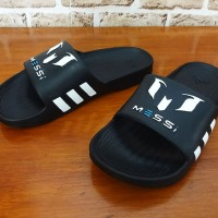 Grosir / Eceran, Sandal Pria, Jepit, Slop, Sandal Adidas Messi X.15 Hitam