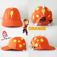 harga Topi Anak Boboiboy - karakter ORANGE Tokopedia.com