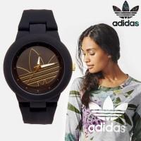 Jam ADIDAS Hitam | Jam Cewek Simple | Jam Adidas Murah
