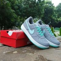Sepatu Nike Air Force One Abu Tosca Vietnam Grade Ori Cewek 36-40