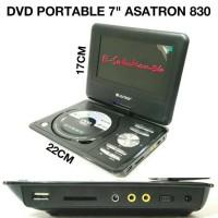 Dvd Portable Asatron + Tv Tuner PDVD-830
