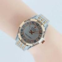 Jam Tangan Wanita Rolex Ls 047- Silver Rose Gold