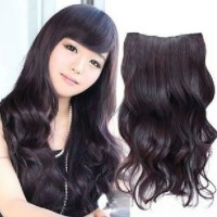 Daily Hair clip JM05 Black Wave Ullzhang wig extension cosplay import