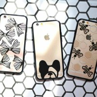 Bumper Motif Case for Iphone 4/4s/5/5s/6/6s/6+/6s+/SE, Grand Prime