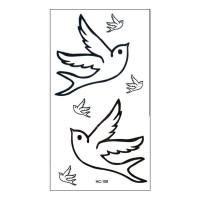 HC 108 Art Body Tato Temporary Stiker Hobi Seni tubuh sticker tatto