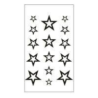HC 08 Art Body Tato Temporary Stiker Hobi Seni tubuh sticker tatto