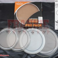 DrumHead Remo PP-0312-PS - Propack Pinstripe 12+13+16 Free PowerStroke