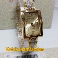 JAM TANGAN WANITA BONIA BNB10197-2215 GOLD ORIGINAL GARANSI RESMI