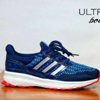 Sepatu Murah Pria Adidas Ultra Boost Men, Sport Running, Free Kaos Kaki
