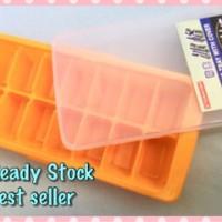 ice cube kotak mpasi ice tray tempat makan bayi yoshikawa puree bubur