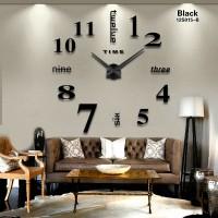 Jam dinding ukuran besar cocok untuk dekorasi hiasan ruangan rumah