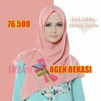 Jilbab Kerudung Rabbani segi empat motif terbaru zahira brossy zayba