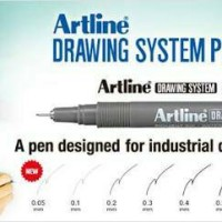 artline drawing pen