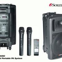 Speaker Portable Amplifier Wireless SoundClub PA 122SC (12 inch)
