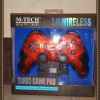 Stick /Stik / Joystik / Gamepad Pc Wireless / Ps2 / Ps3 M Tech