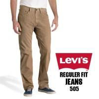 Celana Jeans Levi's Reguler Fit Krem