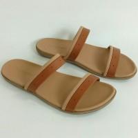 Sandal Flat CONNEXION ANGELTN_ORIGINAL, Sandal Wanita, Sandal Branded