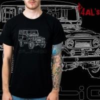 harga Kaos / Tshirt Toyota FJ40 sketch Tokopedia.com