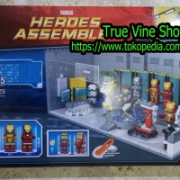 LEGO SY SY305 - Super Heroes Iron Man Armor Weapons Base Station