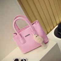 Tas Import Fashion Min-Min / Tas Batam Fashion Min-Min Pink Free Gantung