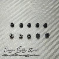 Rep Tamiya 10302 8T Pinion Gears / Gir Pinion Black 10pcs/Pack (GR12)
