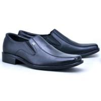 Sepatu Kerja Pantofel Kantor Formal Pria Kulit Sintetis Berkualitas