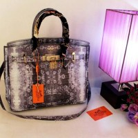 SUPER GROSIR TAS IMPORT S6044 HERMES BIRKIN LIZARD DIAMOND HANDBAG