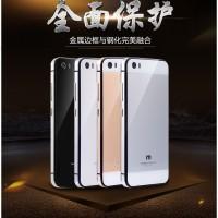 harga Xiaomi Mi5 Mi 5 Back Cover Alumunium Tempered Glass Case Metal Bumper Tokopedia.com