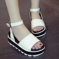 Sepatu Sandal Korea - Uk 36-40 - Tinggi 5 Cm