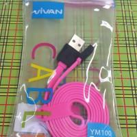 "VIVAN Kabel Data / Charger YM 100 cm ""PINK"" Original"
