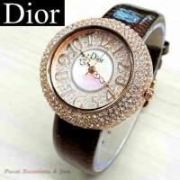 Jam Dior / Jam Tangan Dior Donat / Jam Tangan Cewek / Wanita