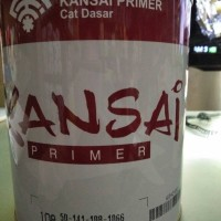 KANSAI ZINC CHROMATE PRIMER 108 / MENI BESI 1KG CAT