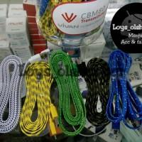 harga Kabel Data Flat Tali Sepatu 2 Meter Micro USB Tokopedia.com