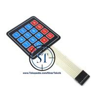 Keypad Membrane 4x4 ( Membran 4 x 4 ) Arduino