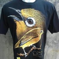 harga Kaos kicau burung Pleci Mania size S M L Tokopedia.com