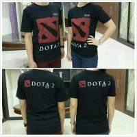 Kaos T-Shirt Logo Dota 2 Hitam (Black) Unisex