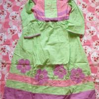 gamis anak perempuan/ baju muslim anak / baju lebaran
