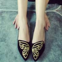 Jangkrik Bos! Flatshoes butterfly.. Premium Quality