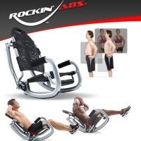 ROCKIN ABS alat latihan fitness bentuk perut rata situp tanpa sakit