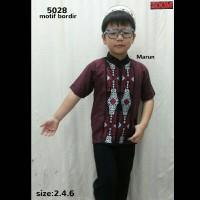 5028 Setelan Baju Koko Anak 2,4,6