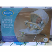 Bouncer Pliko Soothing Music & Vibrations PC67