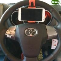 Steer Car Holder Lazypod Mobil Sepeda Setir Stir HP Pod Hanger