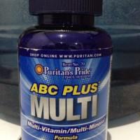 ABC Plus Multivitamin & Multi-Mineral - 100Tab Puritan USA