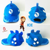 Topi Anak Boboiboy - karakter ICE